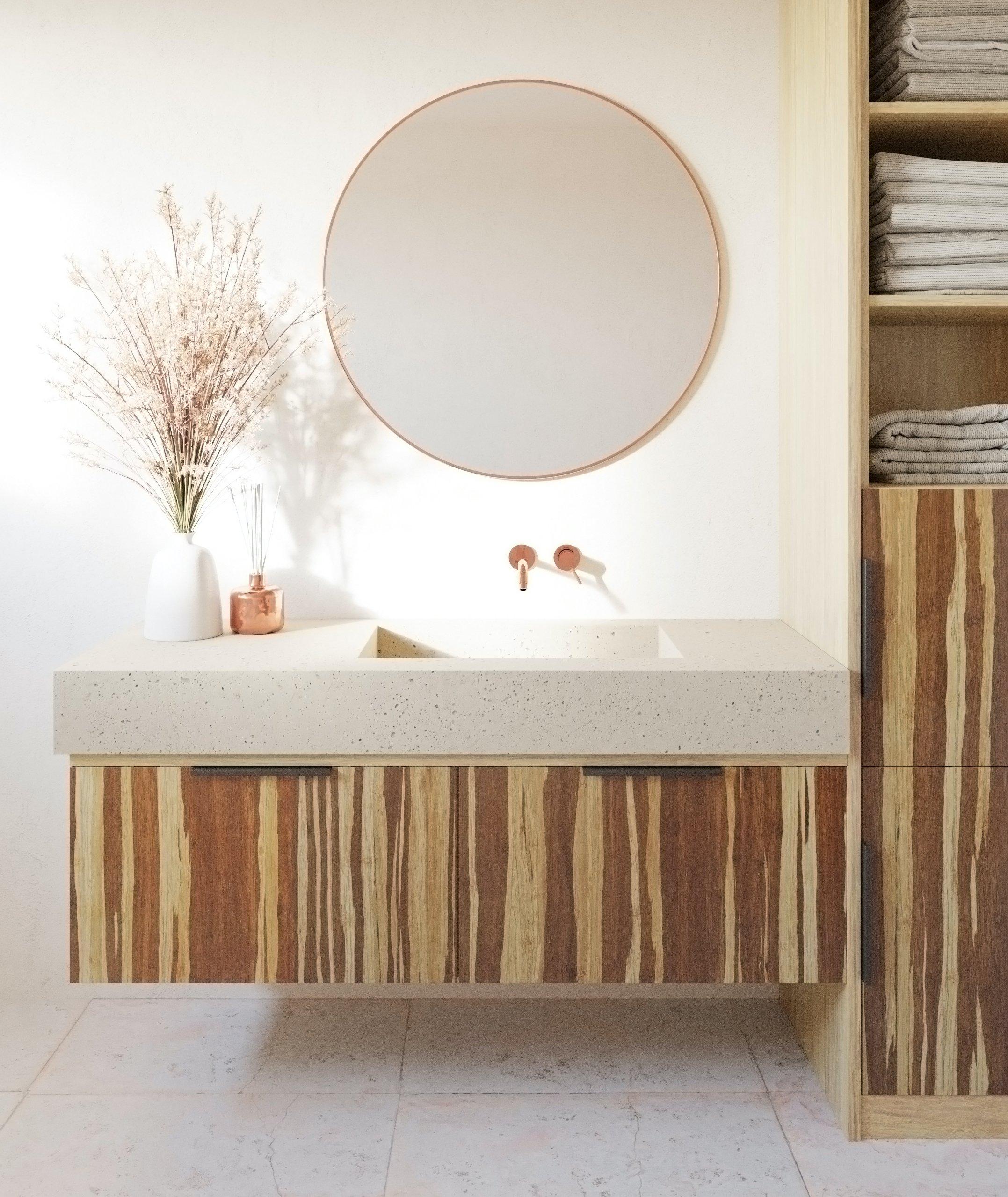 ścianki bambusowe